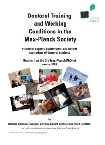 PhDnet survey 2009